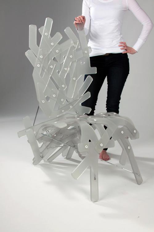 珊瑚架构椅子