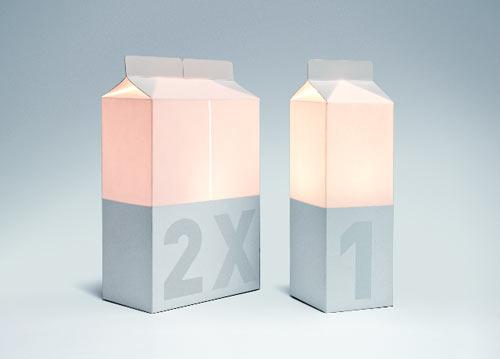 充满牛奶盒灯带LED灯