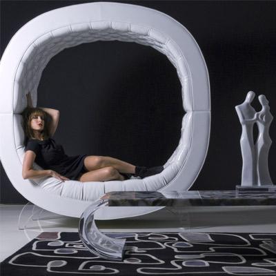 月亮台式沙发