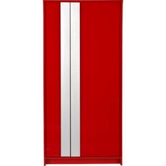 铝漆红衣柜