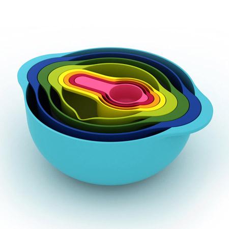厨房搅拌碗节省空间
