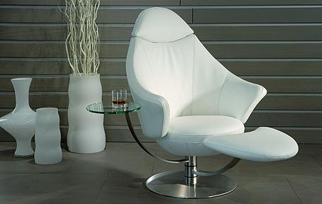卫星皮革躺椅
