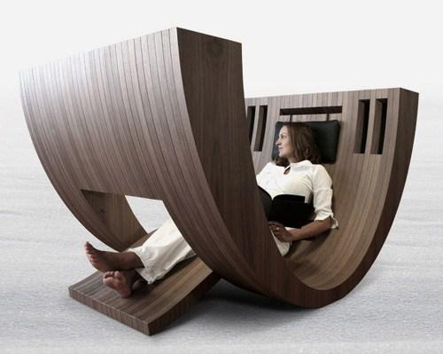 现代木制公社椅