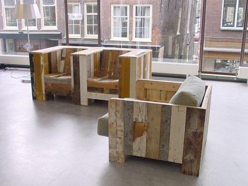租赁生活回收木椅子