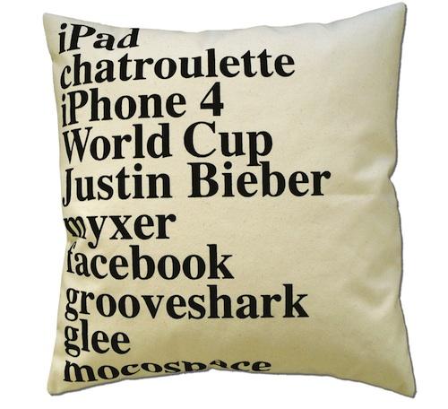 2010年谷歌搜索枕头