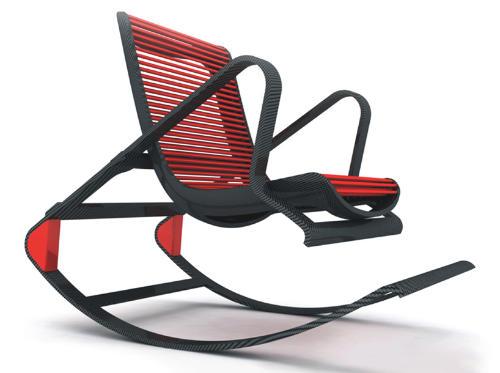 单人沙发摇椅盘
