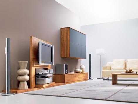 会议系统现代电视架