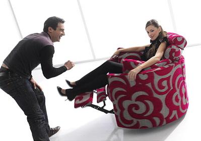 多罗塔面料旋转躺椅
