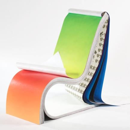 全新的设计挂历椅