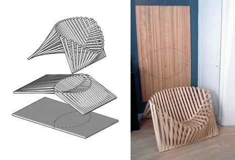 木制折叠椅可以打包