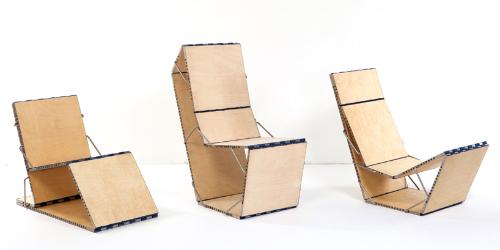 一个新的模块化椅子