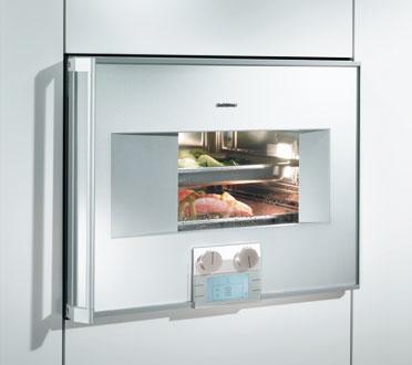 组合对流的蒸气烤箱
