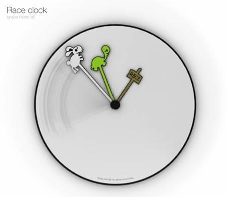 赛车时代挂钟