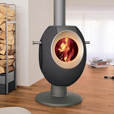 现代风格的取暖炉