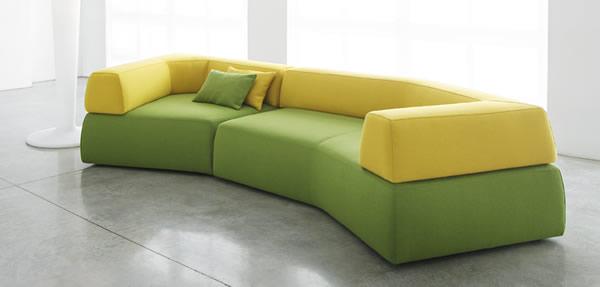 有趣时尚熔体沙发