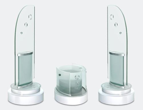 浮冰系列玻璃音箱