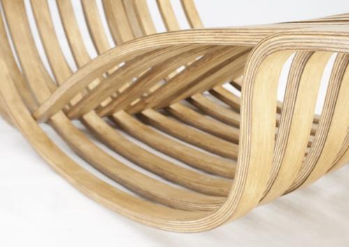 曲木休闲椅