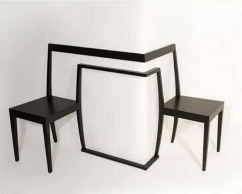独特的角落椅子