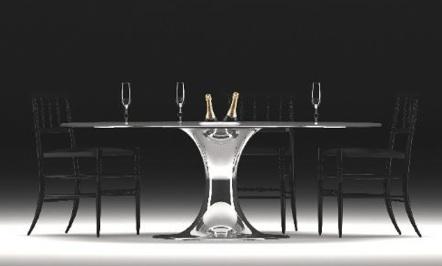 一瓶香槟酒或白葡萄酒