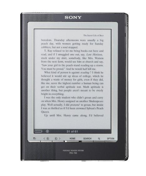索尼数字图书阅读器