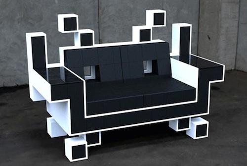 太空侵略者沙发