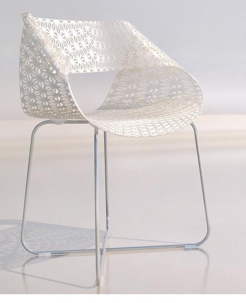 激光切割的秋千椅