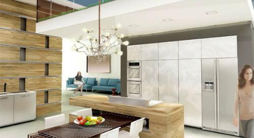 未来现代厨房设计