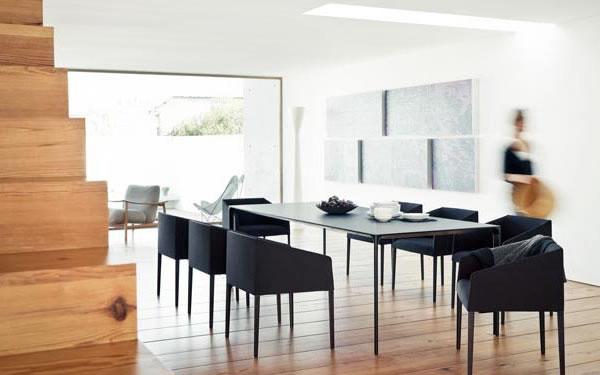 现代简约纸张的客厅