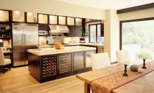 梦现代厨房设计和图片