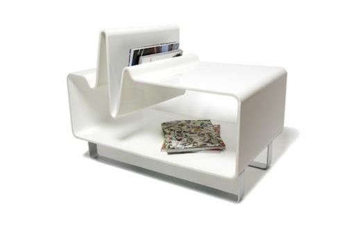 心电图咖啡桌的设计