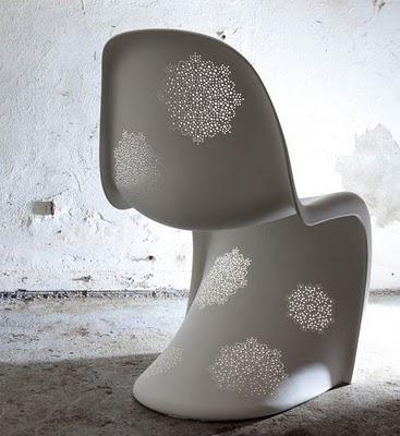 现代标志性的潘顿椅