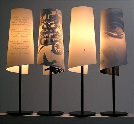 新奇和时髦的现代台灯