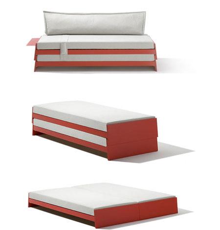 多功能堆叠床
