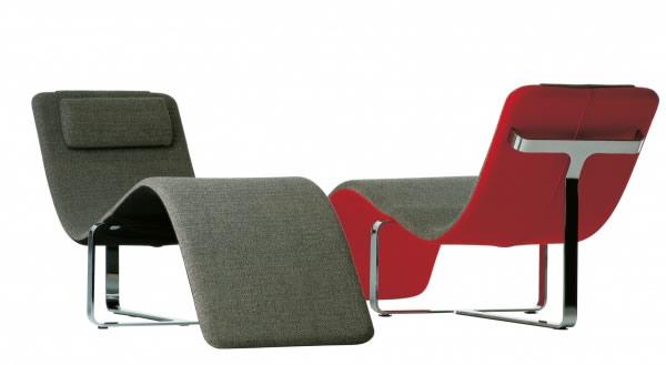 雕塑客厅Flipt躺椅