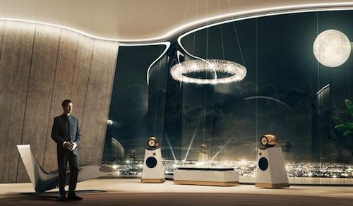 邦德的高级音响系统