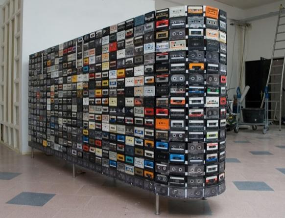 录音带壁橱