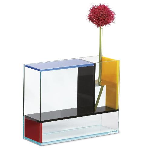 蒙德里安的启发花瓶