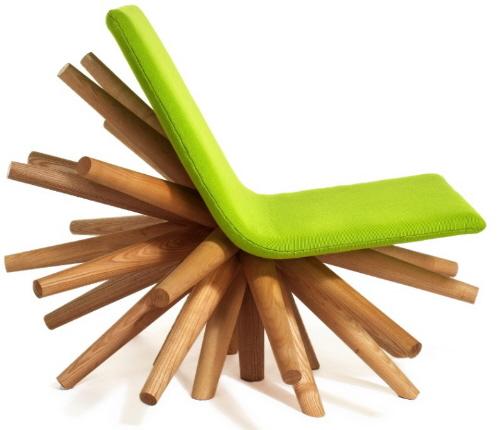 时髦的高炉椅