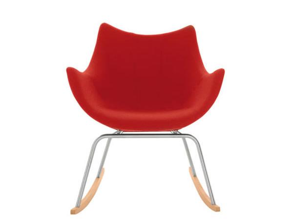 现代摇摆篮扶手椅