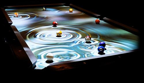 太空时代的游戏桌