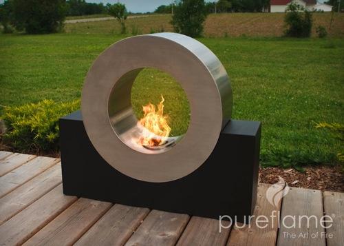 生物乙醇壁炉完美的