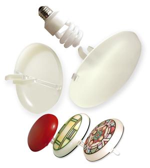 荧光定影液灯罩