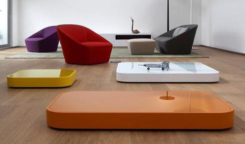 超现代咖啡桌