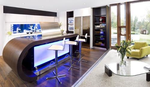 动态厨房是现代家居