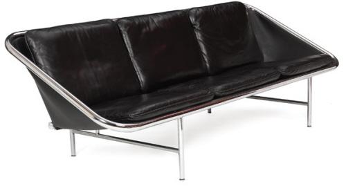 现代吊带沙发椅