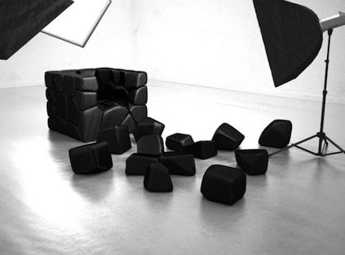 模块化椅子不散架