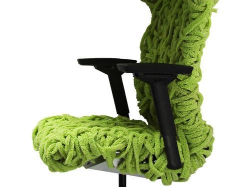 编织的鸟巢椅