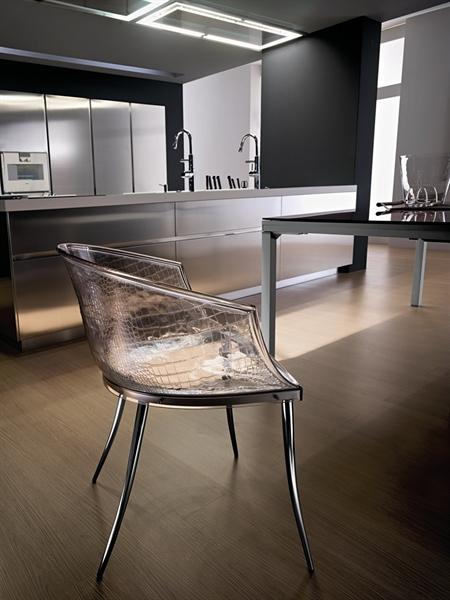 丹迪玻璃椅子