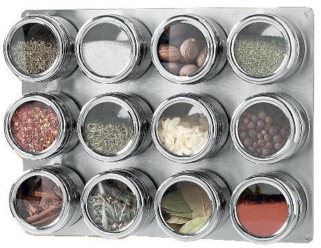 磁性厨房调味架