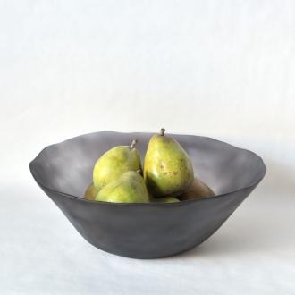 现代塑料圆水果碗